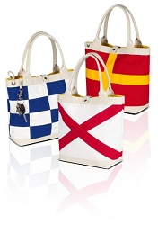 Hatteras Island Signal Flag Tote