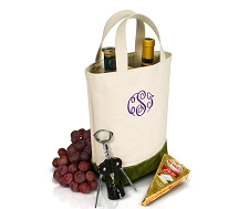 Double Wine Bottle Tote