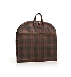 Huntsman Garment Bag –  Autumn Plaid