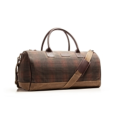 Huntsman Duffle – Autumn Plaid