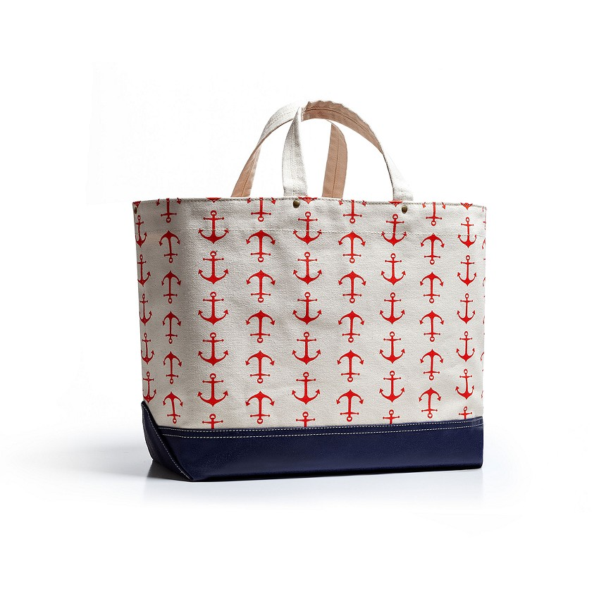 Large Southport Tote – Anchors Away
